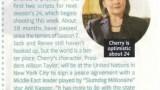 Cherry Jones TV Guide Magazine