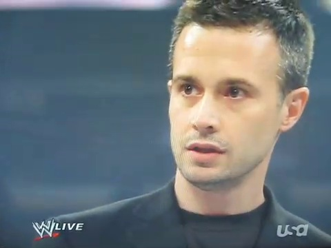 Freddie Prinze Jr on WWE RAW August 18, 2009 promoting 24 Season 8