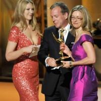 2009 Emmy Awards Kiefer Sutherland Anna Torv Presenting