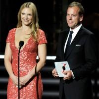 2009 Primetime Emmy Awards Kiefer Sutherl and Anna Torv 001