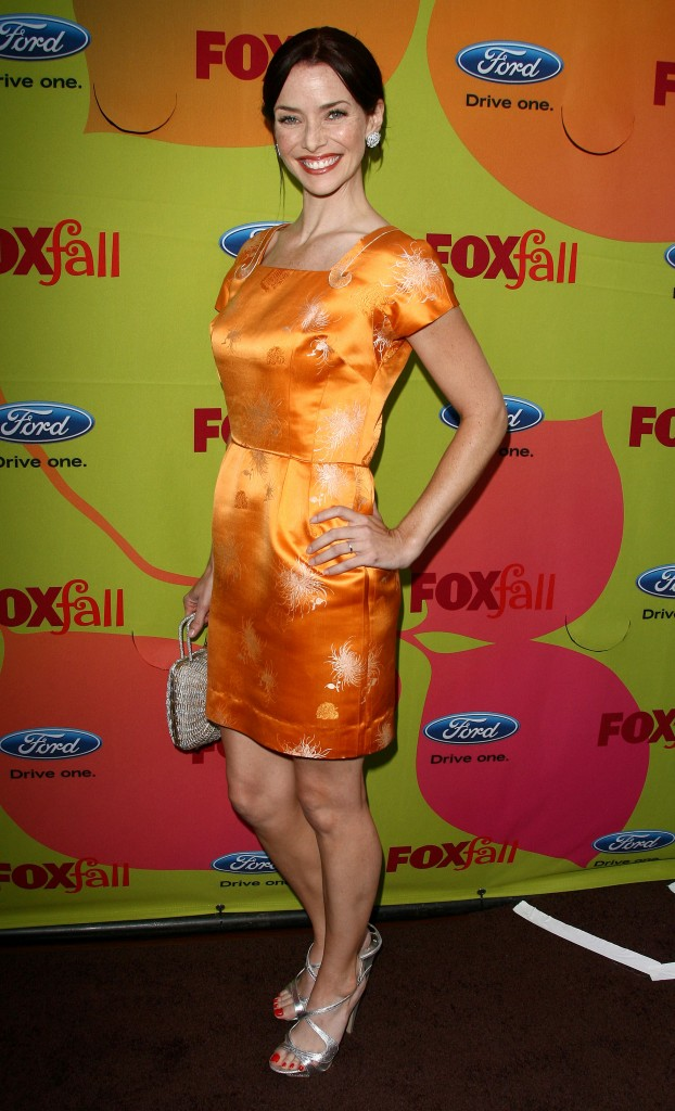 Annie Wersching FOX Fall Eco-Casino Party 002