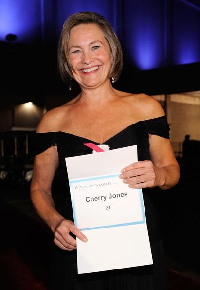 Cherry Jones Emmys 2009 Backstage