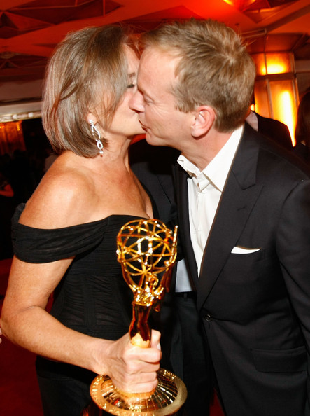 Fox Emmy After Party Cherry Kiefer Kiss