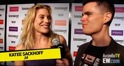Katee Sackhoff pre-Emmy party 2009