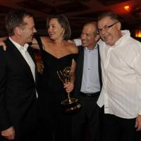 Kiefer Cherry Howard Gordon Brad Turner Emmys 09