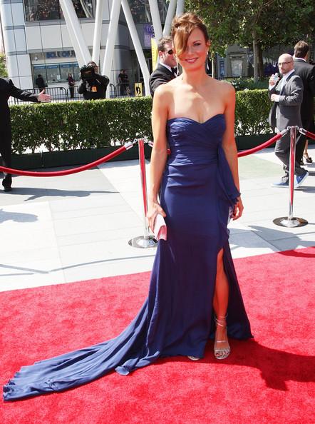 Mary Lynn Rajskub Creative Emmys 2009 Red Carpet