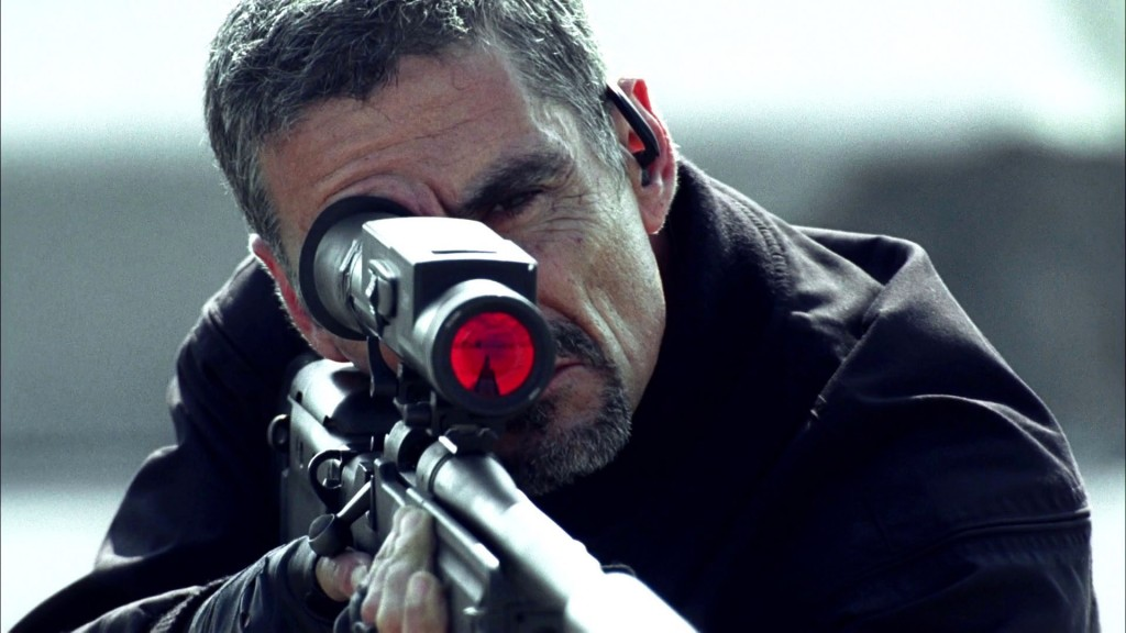 Cliff Simon as Russian Sniper in 24 Season 8 Premiere