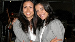 Nazneen Contractor and stunt double Sera Trimble