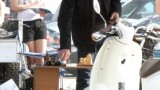 Kiefer Sutherland on location 24 Season 8 set picture