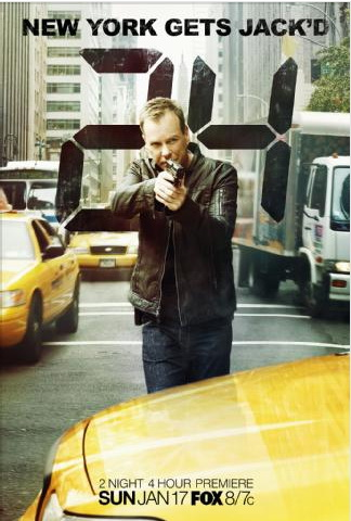 24 Season 8 Poster - New York Gets Jack'd