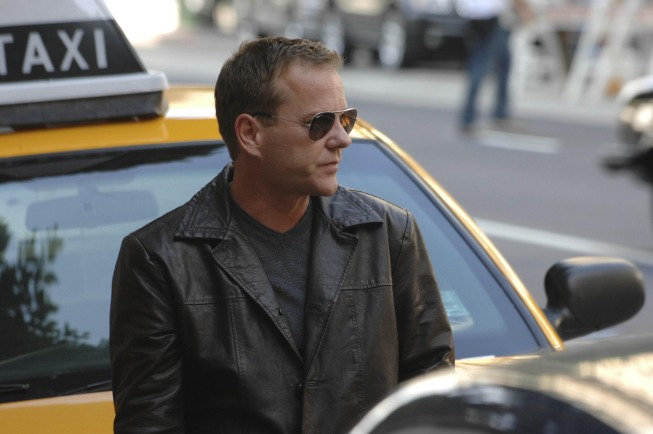 Jack Bauer 24 Season 8 Premiere Glasses