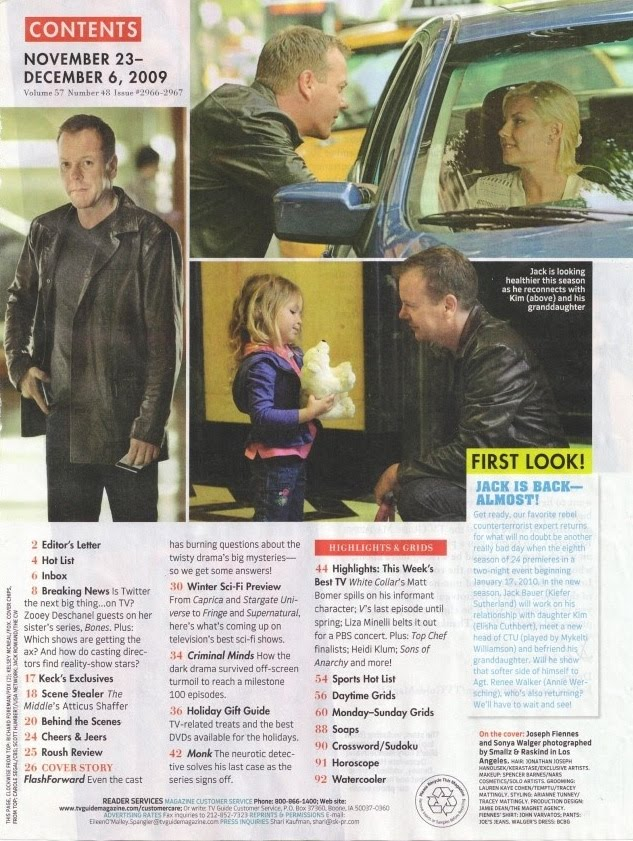 24 season 8 TV Guide Nov 23