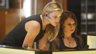 Dana Walsh and Chloe O'Brian in the 24 Season 8 premiere