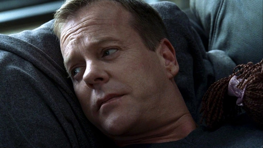 Jack Bauer resting in the 24 Season 8 premiere
