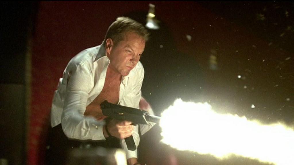 Jack Bauer uzi 24 Season 8