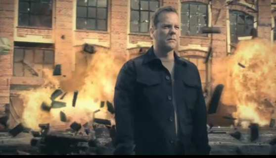 Jack Bauer 24 Season 8 Sky1 Promo