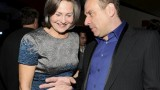 Evan Katz and Cherry Jones at TCA 2010