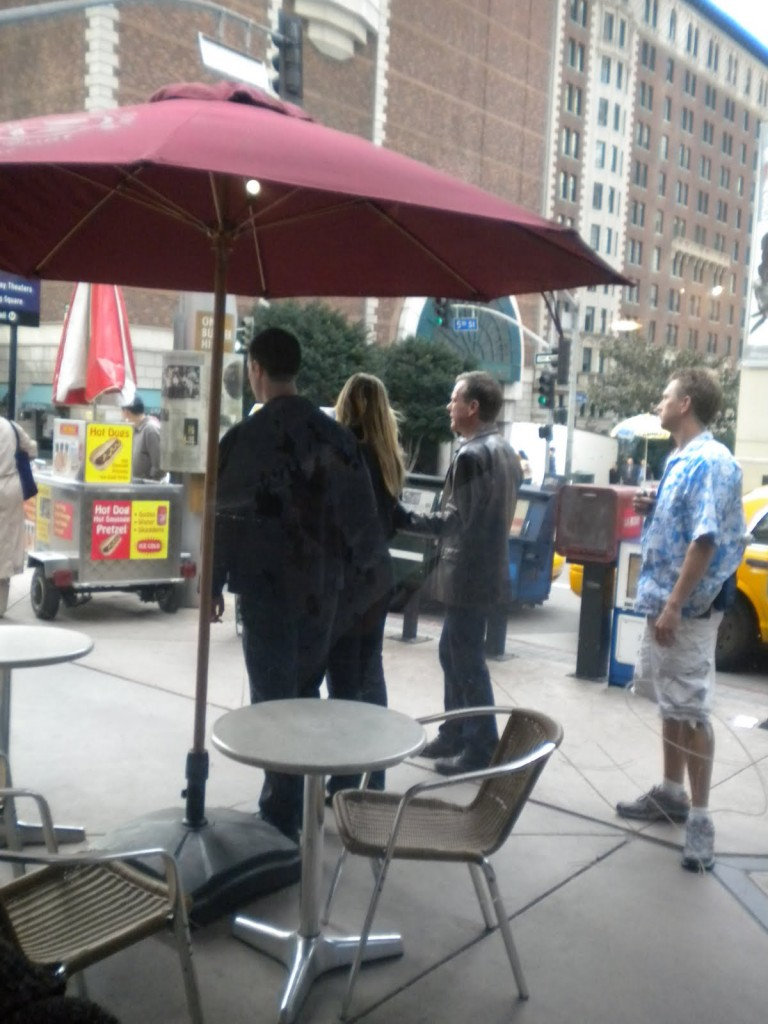Kiefer Sutherland filming 24 Season 8 Episode 20