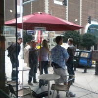Kiefer Sutherland Katee Sackhoff filming 24 Season 8 Episode 20