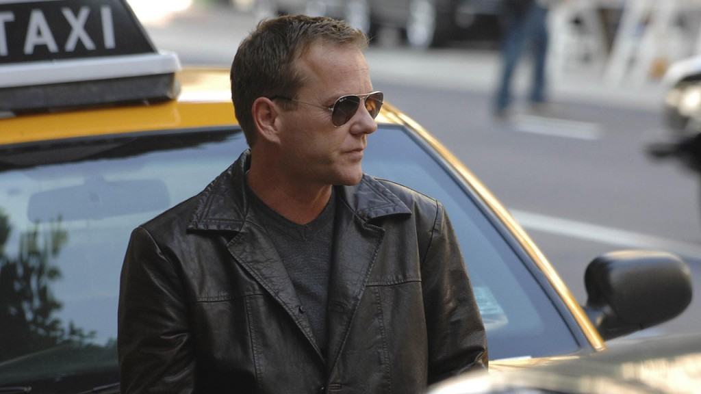 Jack Bauer in New York for the 24 Season 8 Premiere