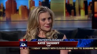 Katee Sackhoff on Good Day NY 2010