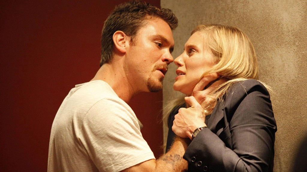 Kevin Wade chokes Dana Walsh in 24 Season 8 Episode 5