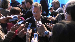 Kiefer Sutherland is interviewed by press at TCA 2010