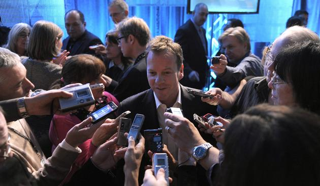Kiefer Sutherland interviews TCA 2010
