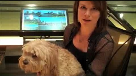Mary Lynn Rajskub's dog Emmy