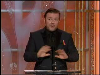 Ricky Gervais 24 Joke at Golden Globes