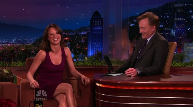 Mary Lynn Rajskub on Conan OBrien January 2010