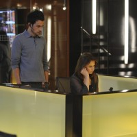 Arlo Glass and Chloe O'Brian 24 Season 8 Episode 5