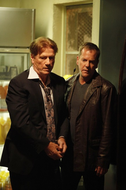 Jack Bauer takes Sergei Bazhaev into custody 24 Season 8 Episode 9
