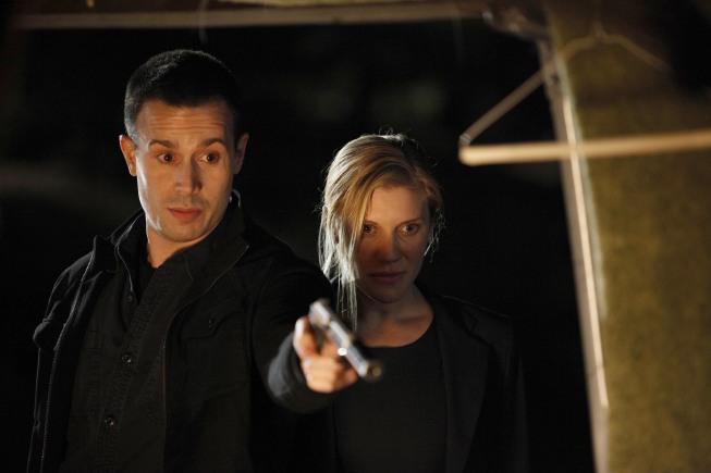 Cole Ortiz and Dana Walsh 24 Season 8 Episode 9