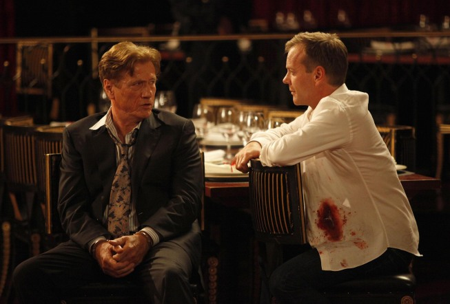 Jack Bauer and Sergei Bazhaev 24 Season 8 episode 8