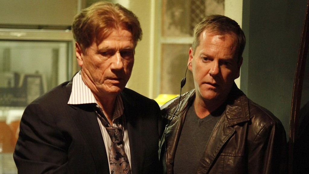 Jack Bauer takes Sergei Bazhaev into custody in 24 Season 8 Episode 9