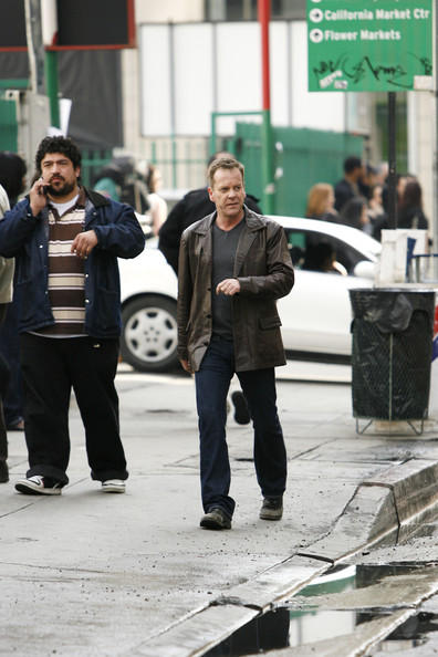 Kiefer Sutherland on 24 set 24 Season 8
