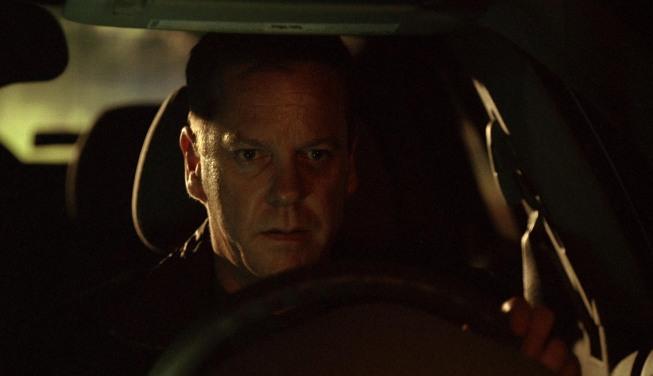 Jack Bauer Driving Car 24 Season 8 Episode 5