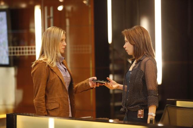 Mary Lynn Rajskub and Katee Sackhoff in 24 Season 8 Episode 11