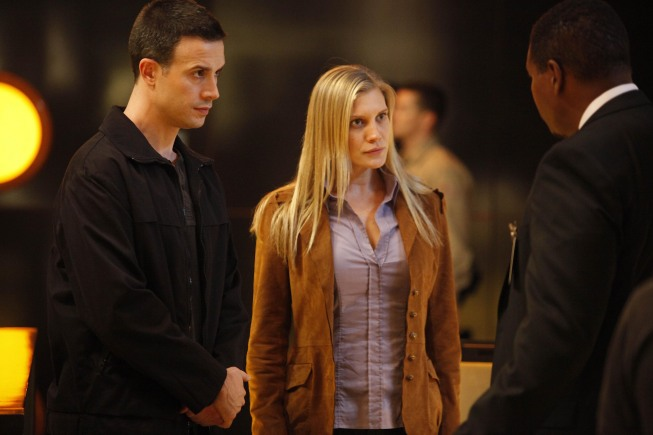 Freddie Prinze Jr and Katee Sackhoff in 24 Season 8 Episode 11