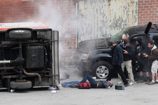 Kiefer Sutherland on ground 24 Series finale set pictures