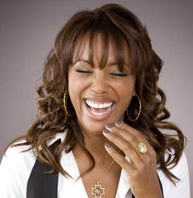 Aisha Tyler Laughing
