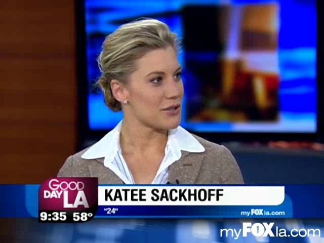 Katee Sackhoff interviewed on Good Day LA
