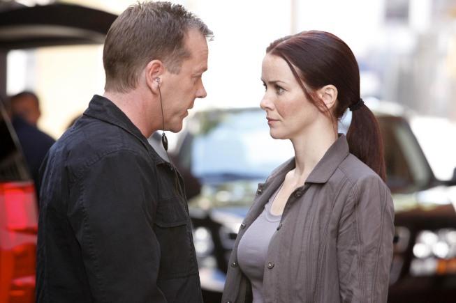 Jack Bauer and Renee Walker 24 Season 8