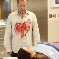Jack Bauer watches over Renee Walker's corpse 24 Season 8 Episode 18