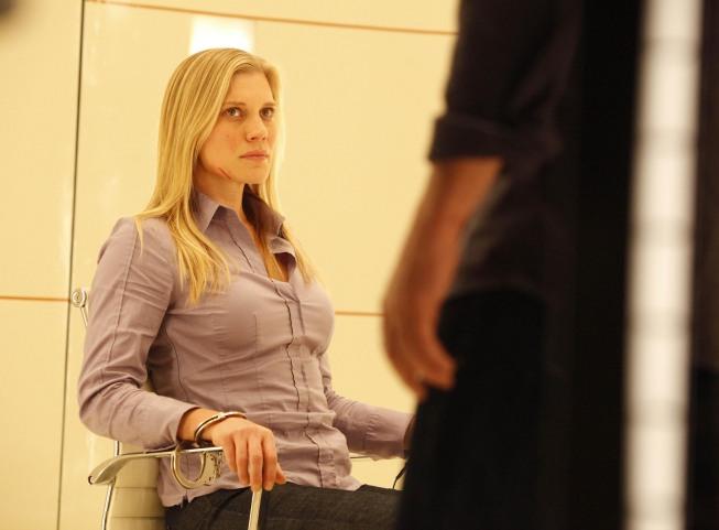 Jack Bauer interrogates Dana Walsh 24 Season 8 Episode 18
