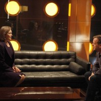 President Allison Taylor and Jack Bauer meet at CTU 24 Season 8 Episode 18