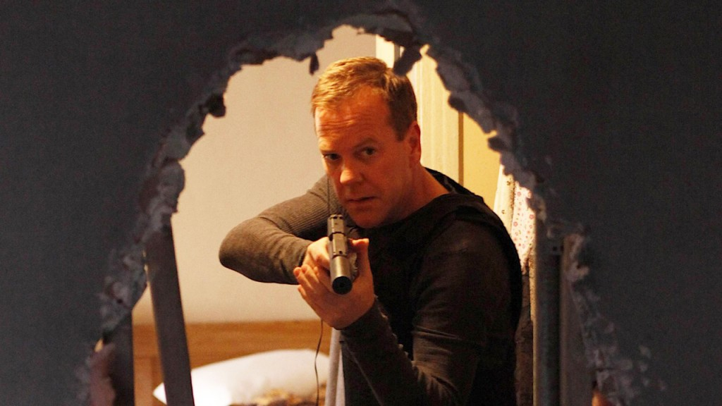 Jack Bauer tries to rescue Omar Hassan in 24 Season 8 Episode 16