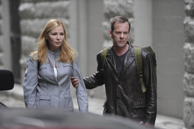 Meredith Reed and Jack Bauer 24 Season 8 Episode 22