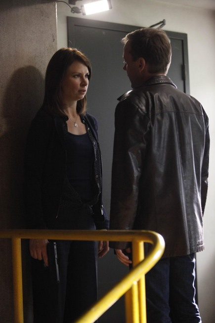Jack Bauer confronts Chloe O'Brian 24 series finale